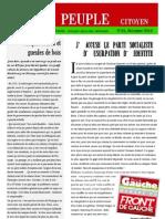 JOURNAL le peuple n°23 dec 2012