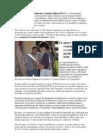 El Censo Nacional de población y vivienda Bolivia 2012 del 21 de noviembre permitirá censo
