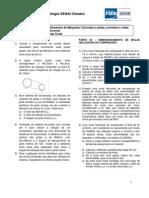 2ª Lista de exercícios _Elementos de Máquinas I_2012