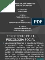 Tendencias de La Psicologia Social
