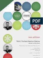 TNOC 2013 New Address Card