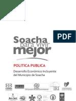 Política Pública de competitividad Soacha
