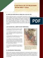 LA MEMORIA HISTÓRICA DE LAS RELACIONESENTRE PERÚ Y CHILE