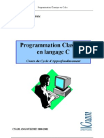 Programmation Classique en c
