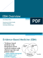 3 - EBM Overview