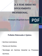 A QUÍMICA E SUAS ÁREAS NO DESENVOLVIMENTO PROFISSIONAL - curto