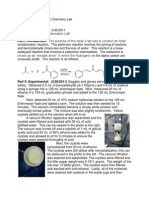 a lab experiment to understand the process of synthesis of dibenzalacetone through a claisen schmidt Synthesis of dibenzalacetone rd from knauer, br 1998  before you come to lab, read and take notes on  is an example of a reaction type known as a claisen.