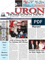 Huron Hometown News - December 6, 2012