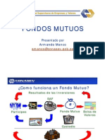 FONDOS MUTUOS - CONASEV