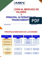 INTRODUCCIÓN AL MERCADO DE VALORES Y PRINCIPAL ALTERNATIVA DE FINANCIAMIENTO