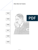 Hitler Timeline Worksheet