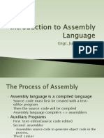 It153l Introduction to Assembly Language Revised