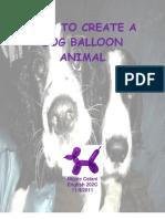 How to Create a Dog Balloon Animal