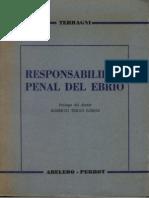 Terragni Marco Antonio - Responsabilidad Penal Del Ebrio