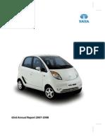 Tata motors Annual Report 2007 08