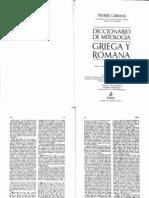 Grimal Pierre Diccionario de Mitologia Griega y Romana