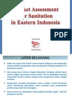 Penilaian Potensi Pasar Sanitasi di Indonesia Timur