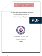 A Project Report Submitted in Partial Fulfillment Of