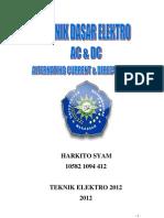 Ac Dan Dc - Harkito Syam