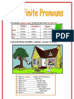 Indefinite Pronouns 1