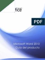 Guía de Microsoft Office Word 2010