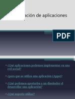 Investigación de aplicaciones