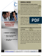 Weekly Equity Report