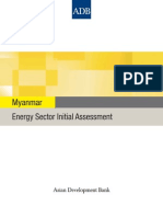 Myanmar Energy Sector Assessment