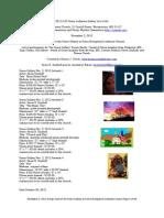 Kevin Earl Dayhoff's Grace Lutheran Gallery List of Art