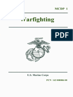 United States Marine Mcdp 1 - 20 June 1997 War Fighting