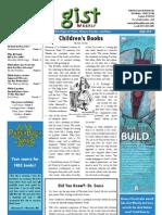 Gist Weekly Issue 10 - Children's Books