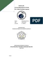 Makalah Dan Contoh Kasus Uml (Muhammad Reza - 100415005)