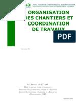 Organisation Des Chantiers