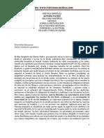 Aeterni Patris Leon XIII Sobre la Restauracion de la Filosofia