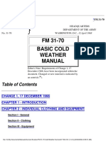 United States Army Fm 31-70-12 April 1968 Cold Weather Basic