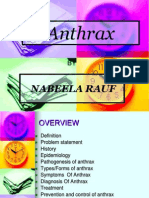Anthrax and ts prevention