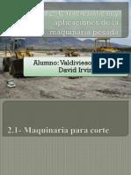 Unidad 2, Maquinaria Pesada y Movimientos de Tierra, Caracteristicas y aplicaciones de la maquinaria pesada.