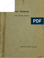 Benjamin Griffith Brawley--The Problem, And Other Poems (1905)