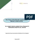 Virgo Elevators Escalators Market Research Report Extracts