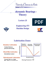 Hydrodynamic Bearing Theory