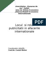 2308992 Locul Si Rolul Publicitatii in Afacerile Internationale