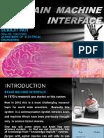 Brain machine Interface (BMI)