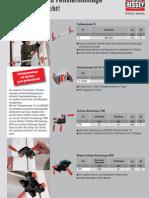 BESSEY Türfutter- und Fenstermontagewerkzeuge