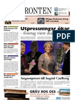 Västfronten 27 november 2012