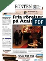 Västfronten 30 november 2012