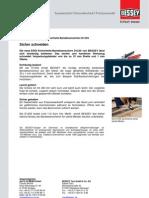 BESSEY Sicherheitsbandeisenschere D123S - Presseinformation