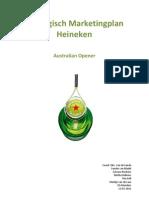 Strategisch Marketing Plan Heineken Australian Opener
