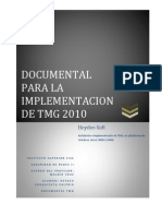 Instalacion e Implementacion de TMG 2010