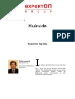 Experton Group Marktsicht;Treiber für Big Data