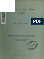 Ivan Eugene McDougle--Slavery in Kentucky, 1792-1865 (1918)